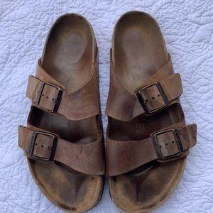 Birkenstock's Arizona Genuine Leather Sz 11 or 41